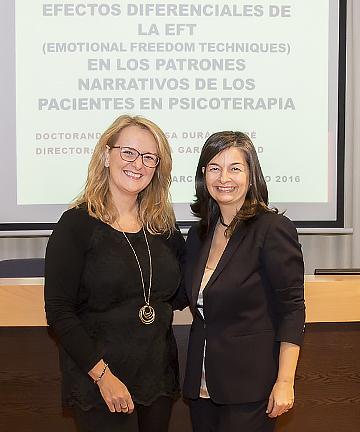 Maite Duran y Rosa Mª Plana
