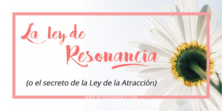 la ley de resonancia o el secreto de la ley de atraccion