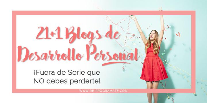 21 blogs de desarrollo personal fuera de serie